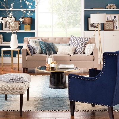 Casual Luxe Living Room Collection Target