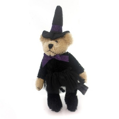 "Boyds Bears Plush 5.0"" Eastwick Cattington Teddy Bear Witch Mohair Jointed  -  Decorative Figurines"