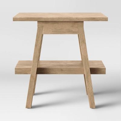 Burke Trestle Wooden End Table - Threshold™