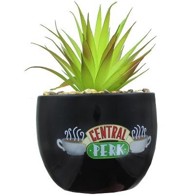 Silver Buffalo Friends Central Perk Logo Large Ceramic Planter