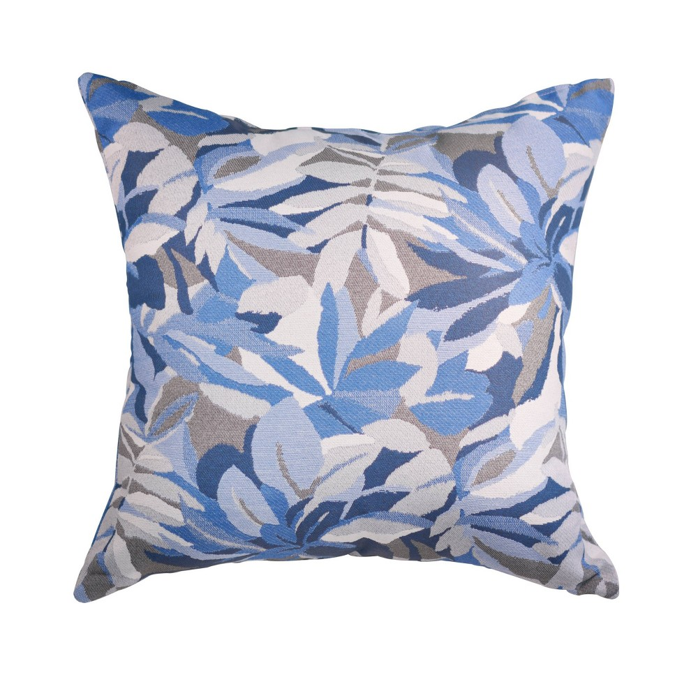 "Image of ""Pacifica Lounge Throw Pillow Dewey Blue - Astella, Size: 24""""x24"""""""