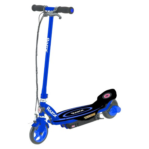 Razor Electric Scooter With Seat >> Razor Power Core E95 Electric Scooter Blue