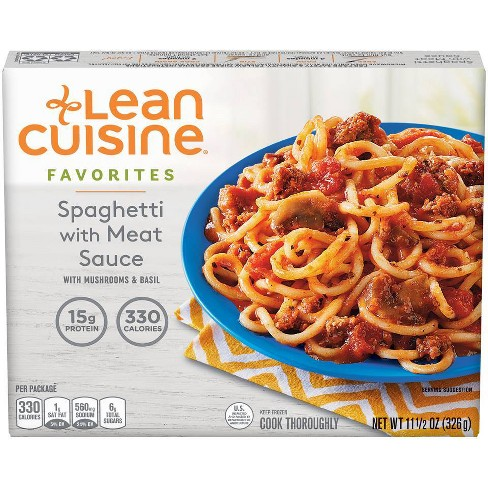 Lean Cuisine Spaghetti with Meat Sauce Frozen Pasta Meal - 11.5oz - image 1 of 4