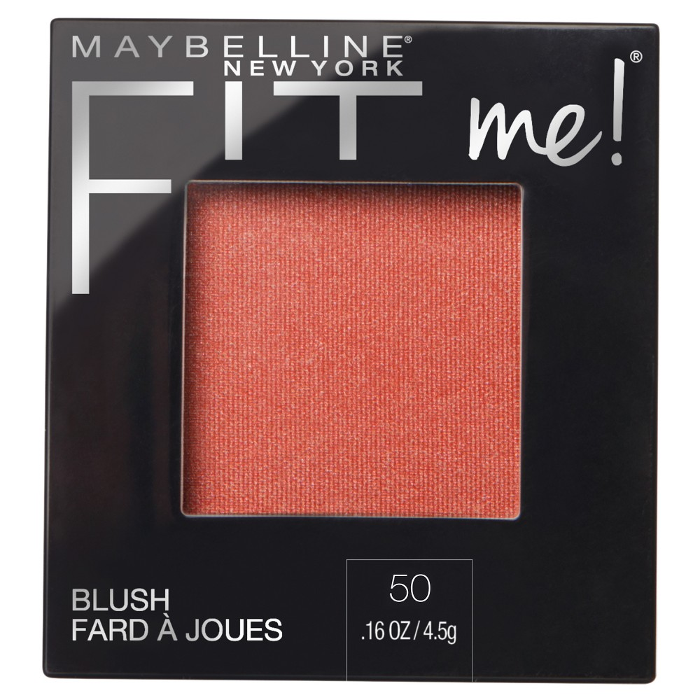 Maybelline FitMe Blush 50 Wine - 0.16oz