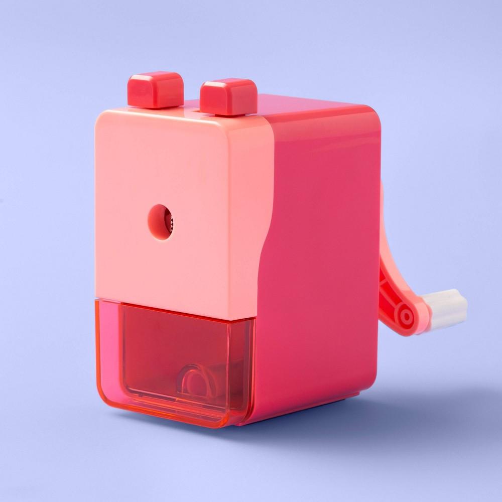 Image of Rotary Pencil Sharpener - More Than Magic Pink