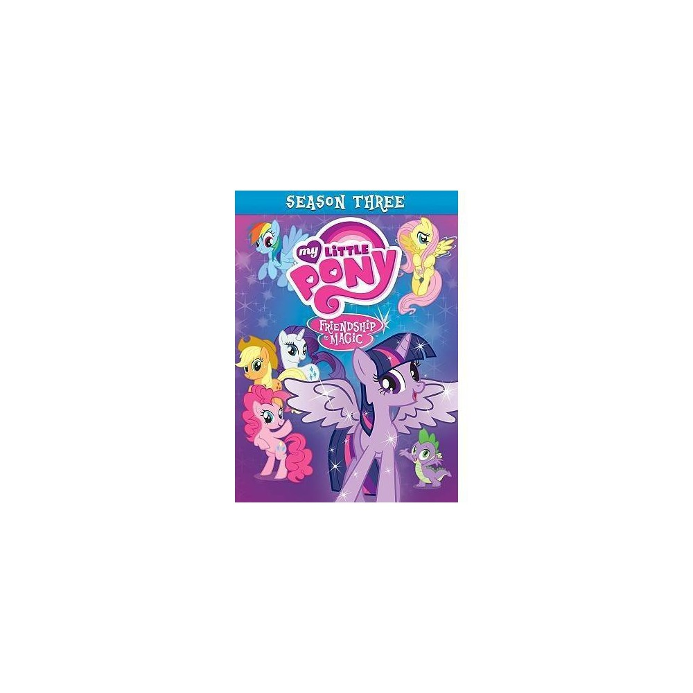 My Little Pony Friendship Is Mag Ssn3 (Dvd)