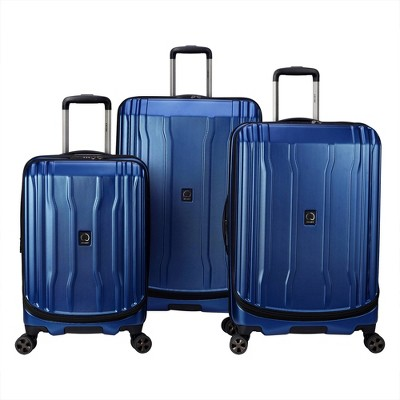 DELSEY Paris Cruise Lite 3pc Hardside 2.0 Hardside Luggage Set - Blue