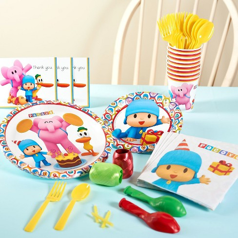 Pocoyo Birthday Party Tableware Pack - image 1 of 1