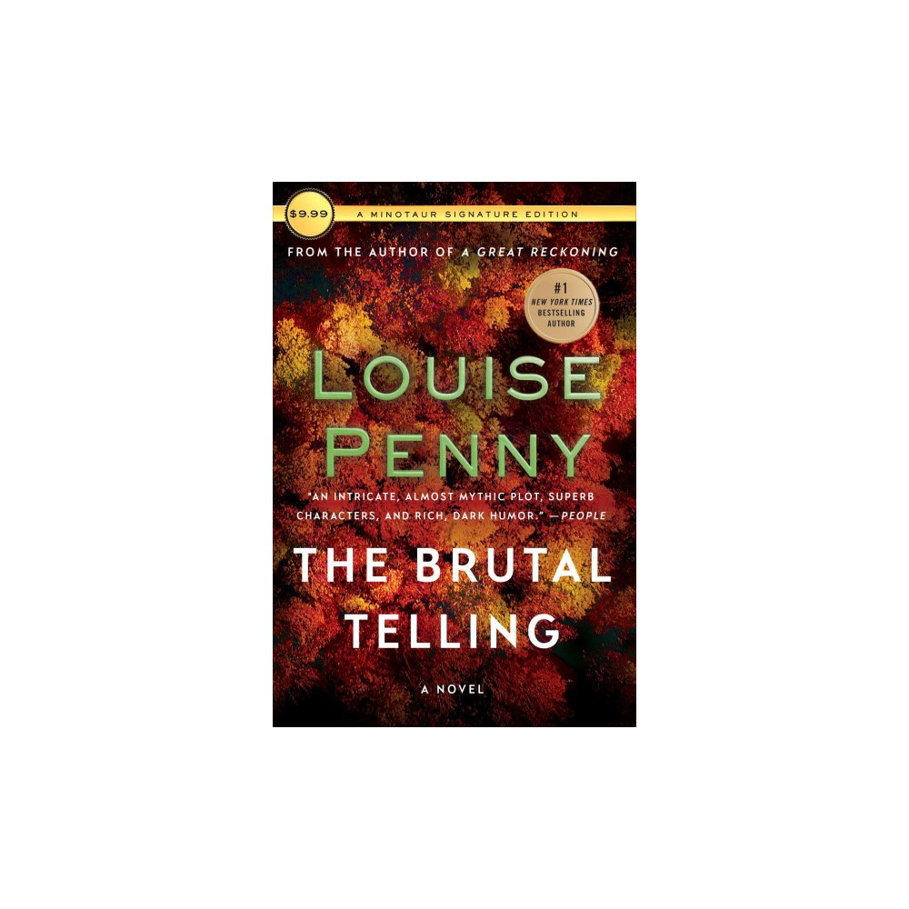 Brutal Telling - Reprint (Chief Inspector Gamache) by Louise Penny (Paperback) Brutal Telling - Reprint (Chief Inspector Gamache) by Louise Penny (Paperback)