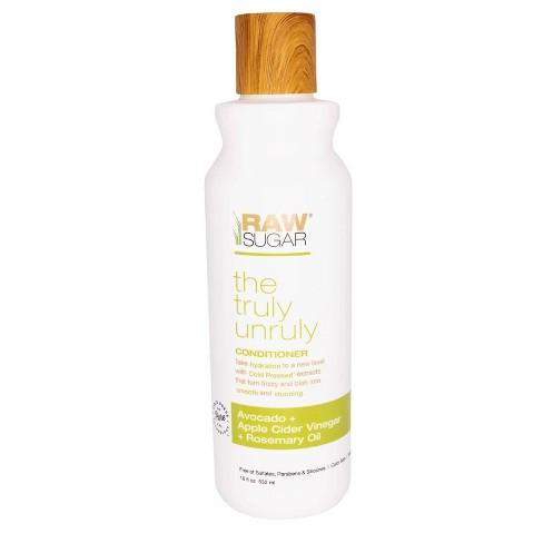 Raw Sugar Truly Unruly Conditioner Avocado + Apple Cider Vinegar + Rosemary Oil - 18 fl oz - image 1 of 4
