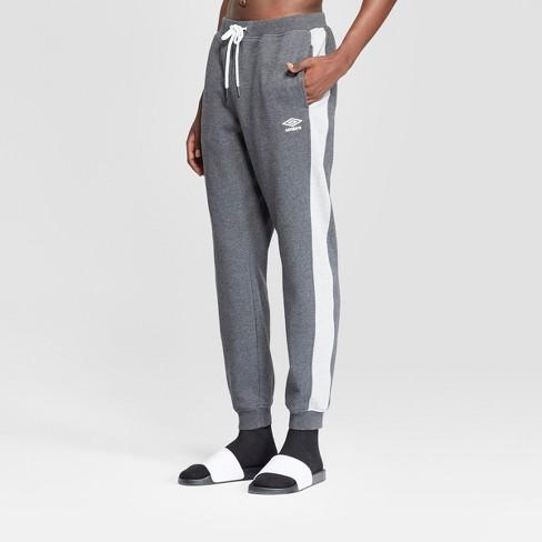 9c1b39d855bf Umbro Men s Fleece Jogger Pants With Side Stripe   Target