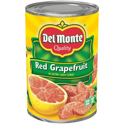 Del Monte Red Grapefruit Sections in Light Syrup 15oz