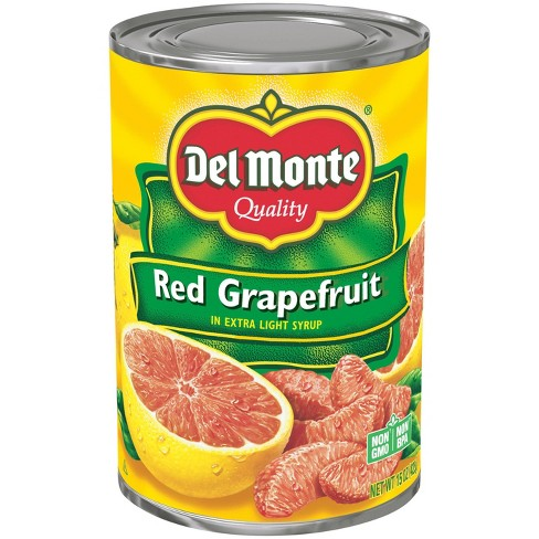 Del Monte Red Grapefruit Sections in Light Syrup 15oz - image 1 of 1