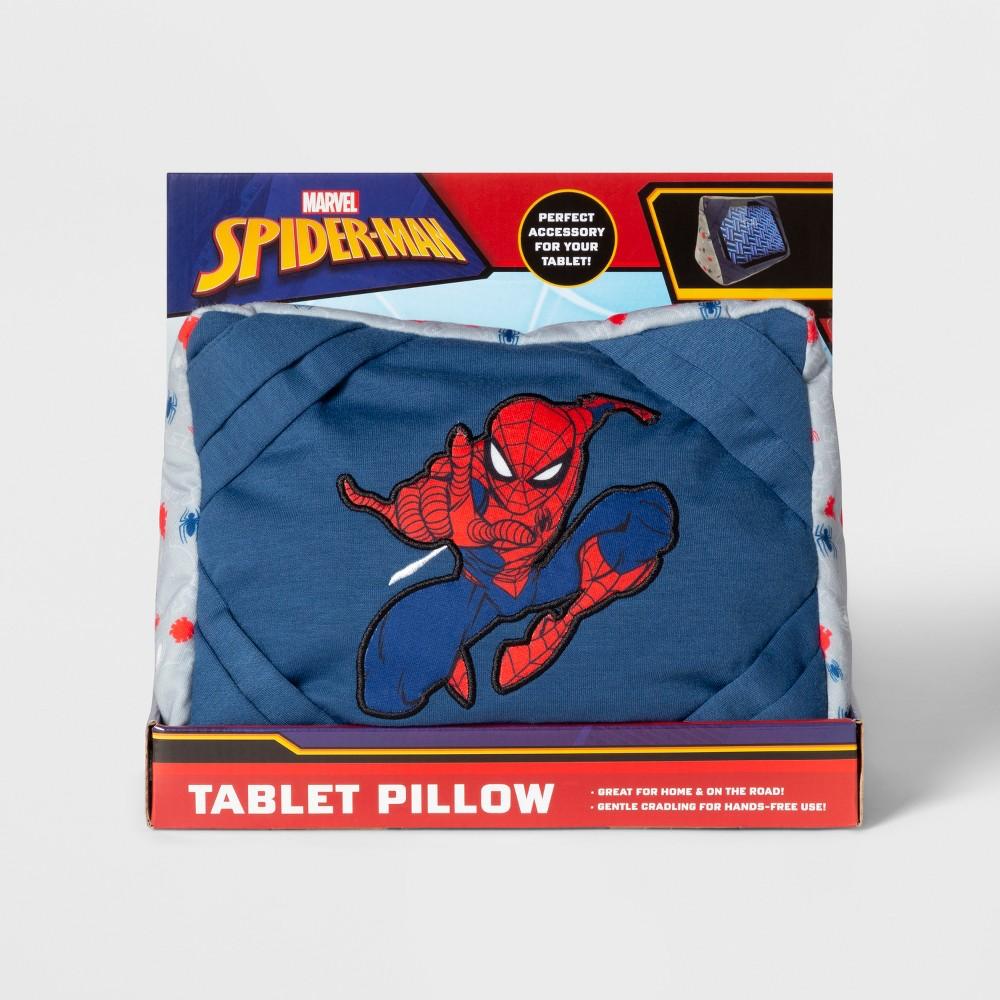Marvel Spider-Man Tablet Throw Pillow, Blue