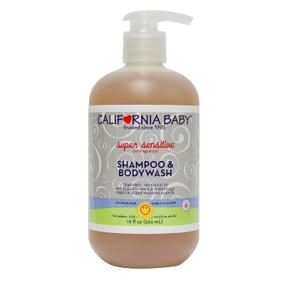 California Baby Super Sensitive Shampoo & Bodywash - 19 oz.