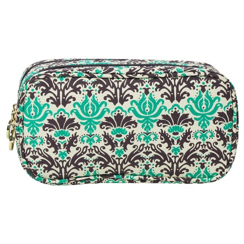 Contents Garden Party Double Zip Organizer Cosmetic Bag - image 1 of 2