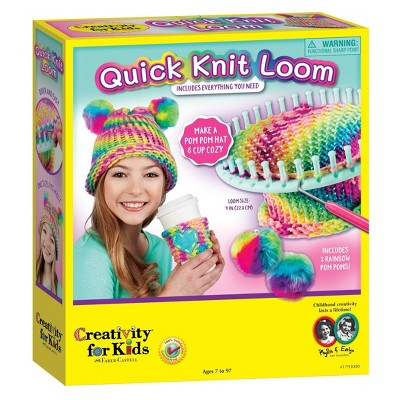 Creativity for Kids Quick Knit Loom Craft Kit