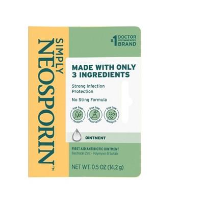 Neosporin Simply Formula Ointment - 0.5oz