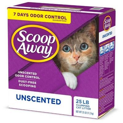 Scoop Away Super Clump Clumping Cat Litter Unscented - 25lb