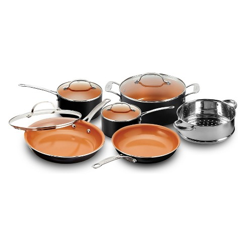 As Seen On Tv Gotham Steel Copper Nonstick Frying Pan And