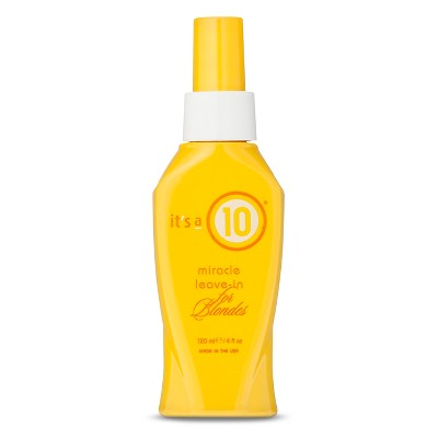 It's a 10 Miracle Leave-In For Blondes Conditioner - 4 fl oz