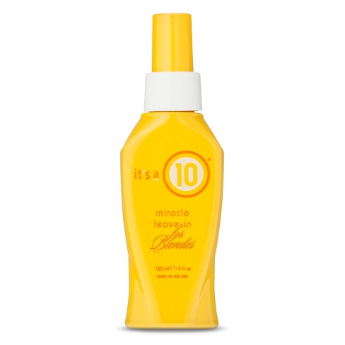 It's a 10 Miracle Leave-In For Blondes Conditioner - 4 fl oz - image 1 of 3