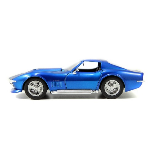 BIGTIME Muscle Wide Body 1:24 Diecast - 1969 Corvette Stingray ZL-1 - Blue