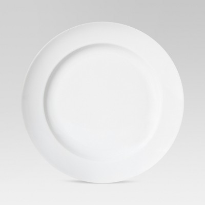 "Round Salad Plate 8""x8"" Porcelain - Threshold™"