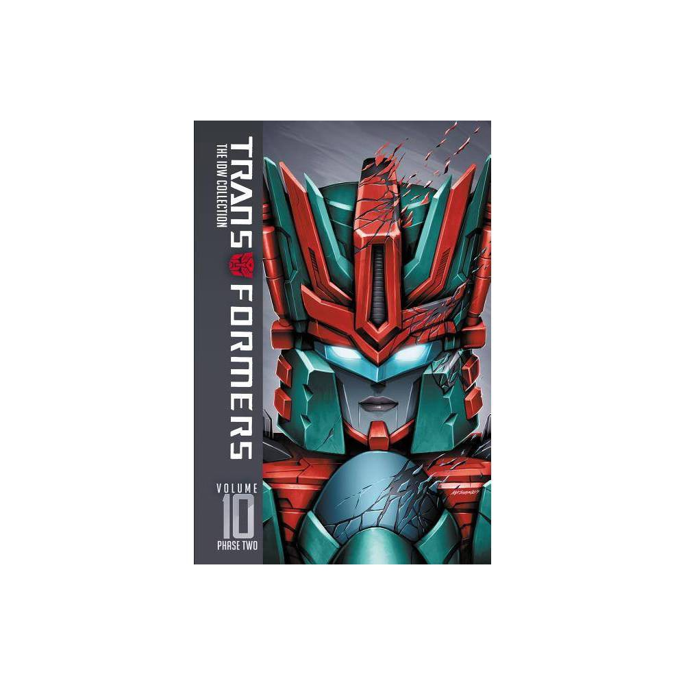 Transformers Idw Collection Phase Two Volume 10 By Mairghread Scott John Barber Nick Roche Hardcover