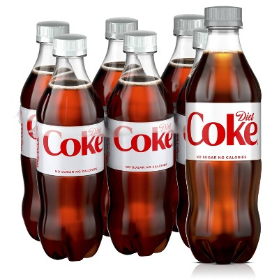 Diet Coke - 6pk/16.9 fl oz Bottles