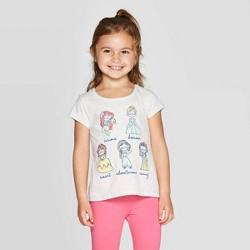 Disney Frozen Group Girls Pink T-Shirt