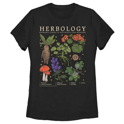 Women's Harry Potter Hogwarts Herbology T-Shirt