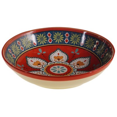 128oz Earthenware La Vida Serving Bowl - Certified International