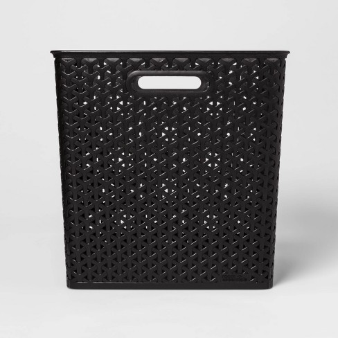 "Y-Weave 13"" Cube Decorative Storage Basket - Room Essentials™ - image 1 of 3"