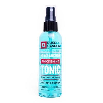 Duke Cannon Mini Thickening Tonic Spray - 3.5 fl oz