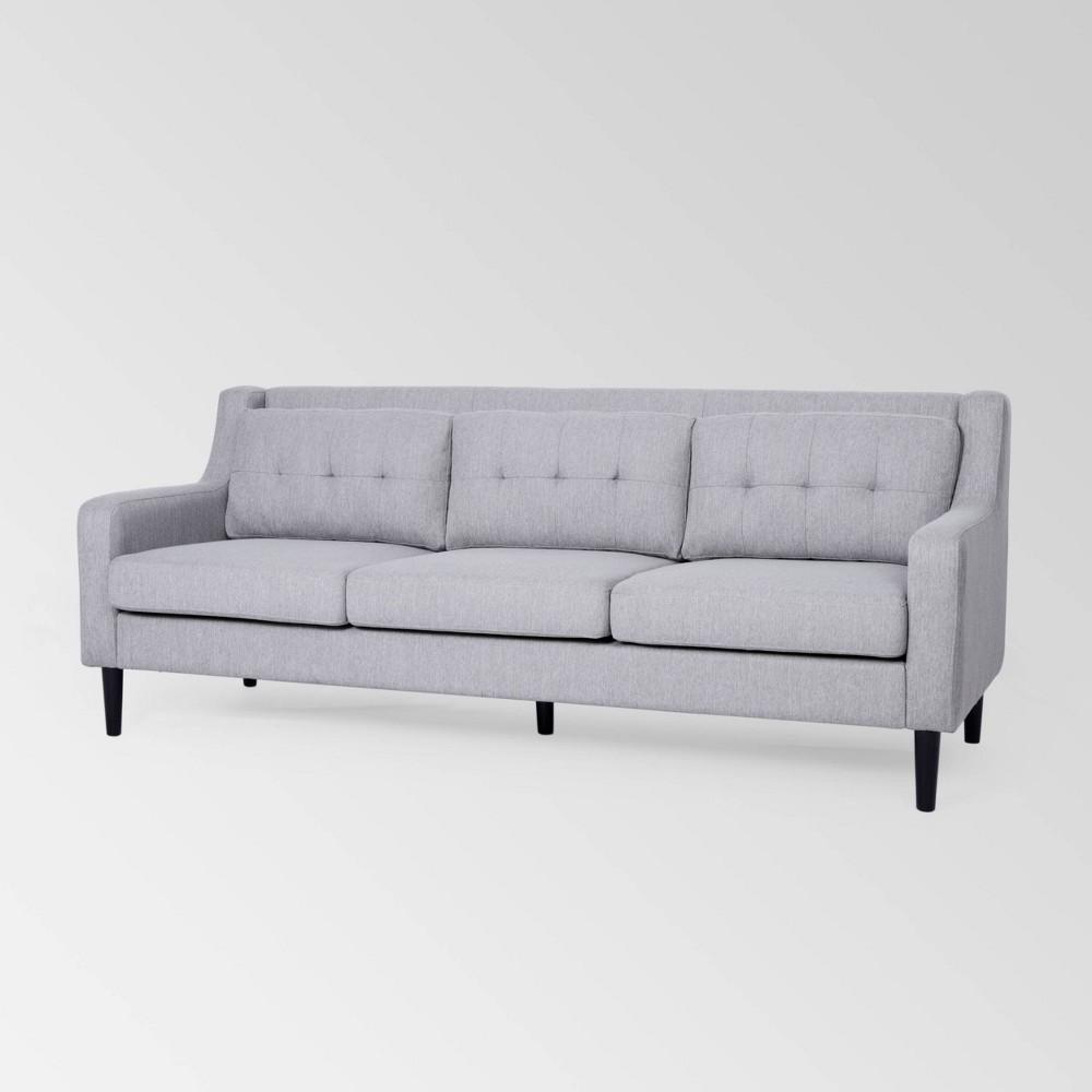 Reynard Tufted Sofa Dark Gray - Christopher Knight Home was $899.99 now $584.99 (35.0% off)