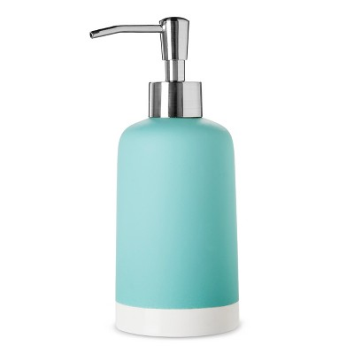 Soap/Lotion Dispenser Turquoise - Room Essentials™
