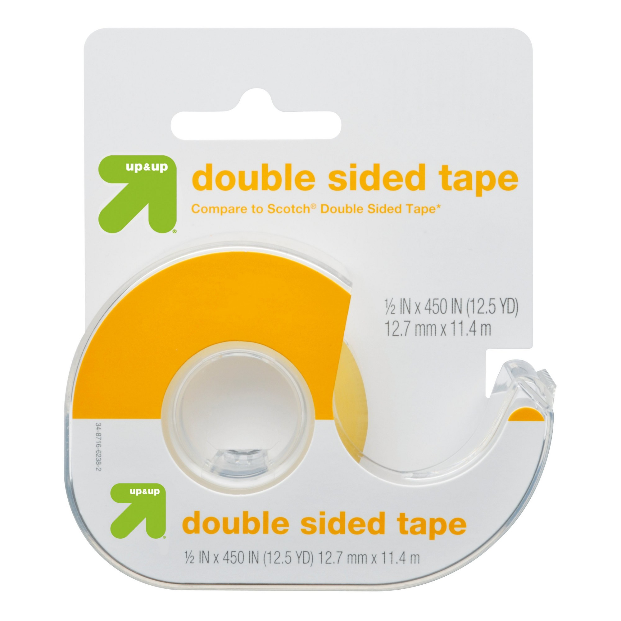 Double-Sided Tape (Compare to Scotch Double Sided Tape) - Up&Up , Clear