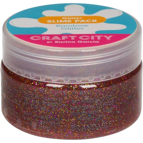 Karina Garcia 4pk Collectible Slime- Glitter Slime by Craft City