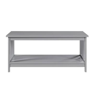 Mission Coffee Table Gray - Johar Furniture