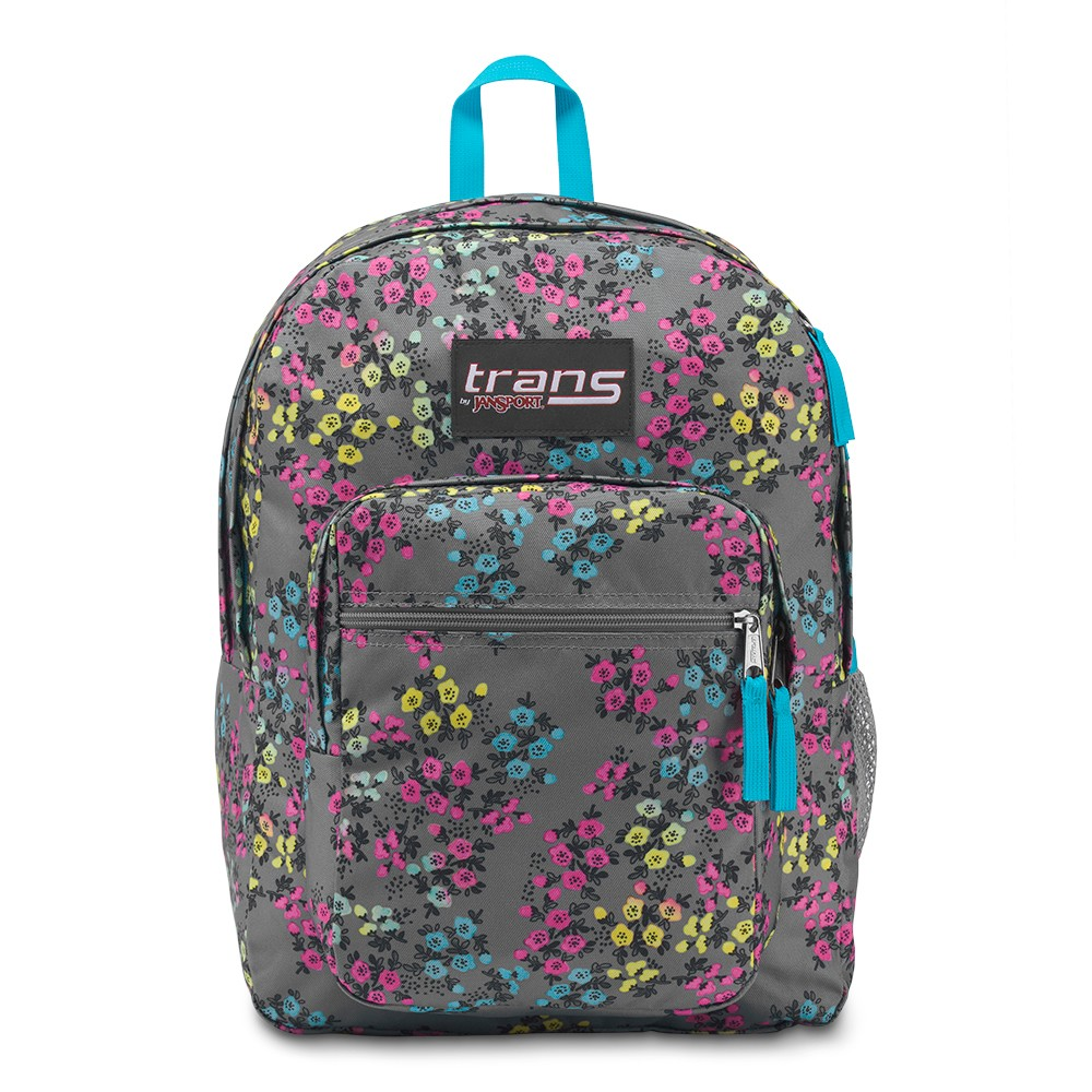 Trans by Jansport 17 Supermax Backpack - Sweet Meadow, Multi-Colored