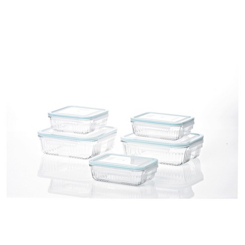 Gllock Retro Oven And Microwave Safe Gl Food Storage Container 10 Pieces Target
