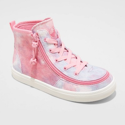 Girls' BILLY Footwear Zipper High Top Apparel Sneakers