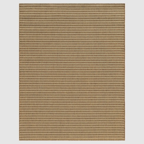 Hickory Stripe Outdoor Patio Rug - Smith & Hawken™ - image 1 of 4
