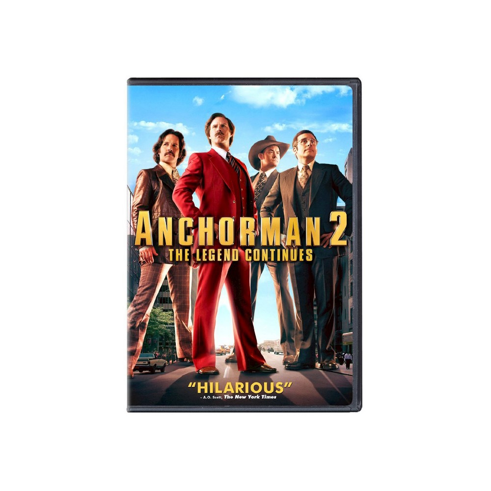 Anchorman 2: The Legend Continues (Widescreen)