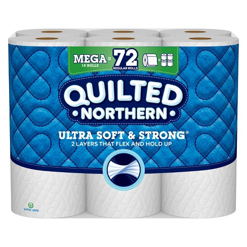 Quilted Northern Ultra Soft & Strong Toilet Paper - Mega Rolls - image 1 of 3