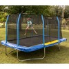 JumpKing 12 x 17 Foot Large Rectangular Trampoline with Safety Net Wall Siding - image 4 of 4
