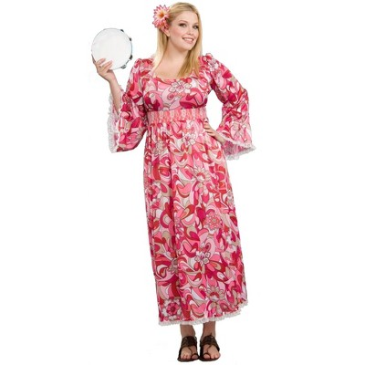 Forum Novelties Plus Size Women's Flower Child Costume