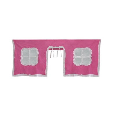 Max & Lily Cotton Underbed Curtains Fancy