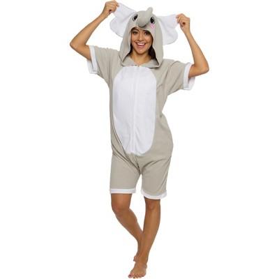 Funziez! Elephant Adult Short Sleeve Novelty Romper